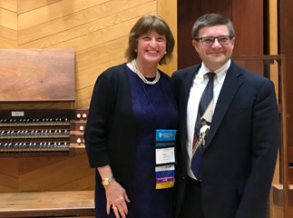 2019 Winner Aaron David Miller and Barbara W. Lepke-Sims (AHS Summer Institute, North Carolina)